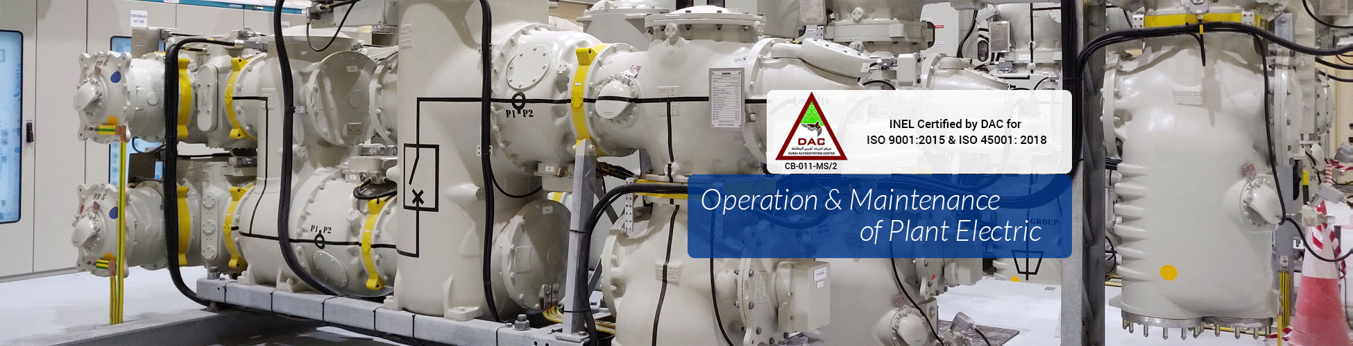 Inel Power Electromechanical L L C Electrical Engineers Consultants Contractors